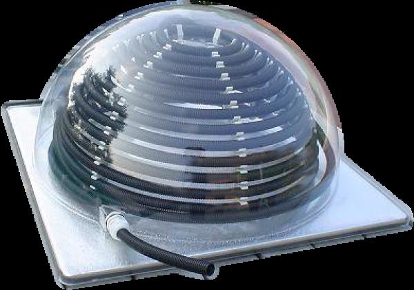 SunSphere - 360° Halbkugelkollektor